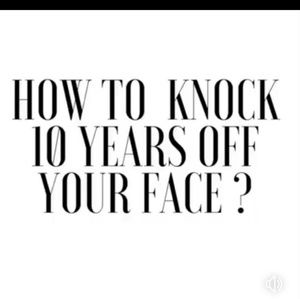 TAKE 10yrs off your face!🥂🍾🥂🍾🥂